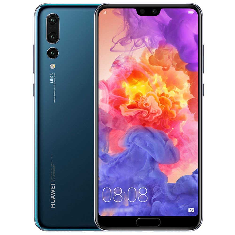 "Huawei P20 Pro Single SIM 4G 128GB Blue - Smartfony (15.5 CM (6.1 ""), 128 GB, 40 MP, Android, 8.1, niebieski)"