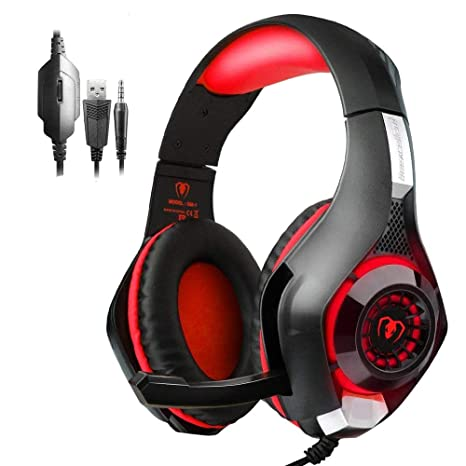 PS4 Headset  Playstation 4 Gaming Headset Mfeel PS4 Gaming Headset  Gaming  Headset Xbox One Headset Gaming Headphones with Microphone Volume Control