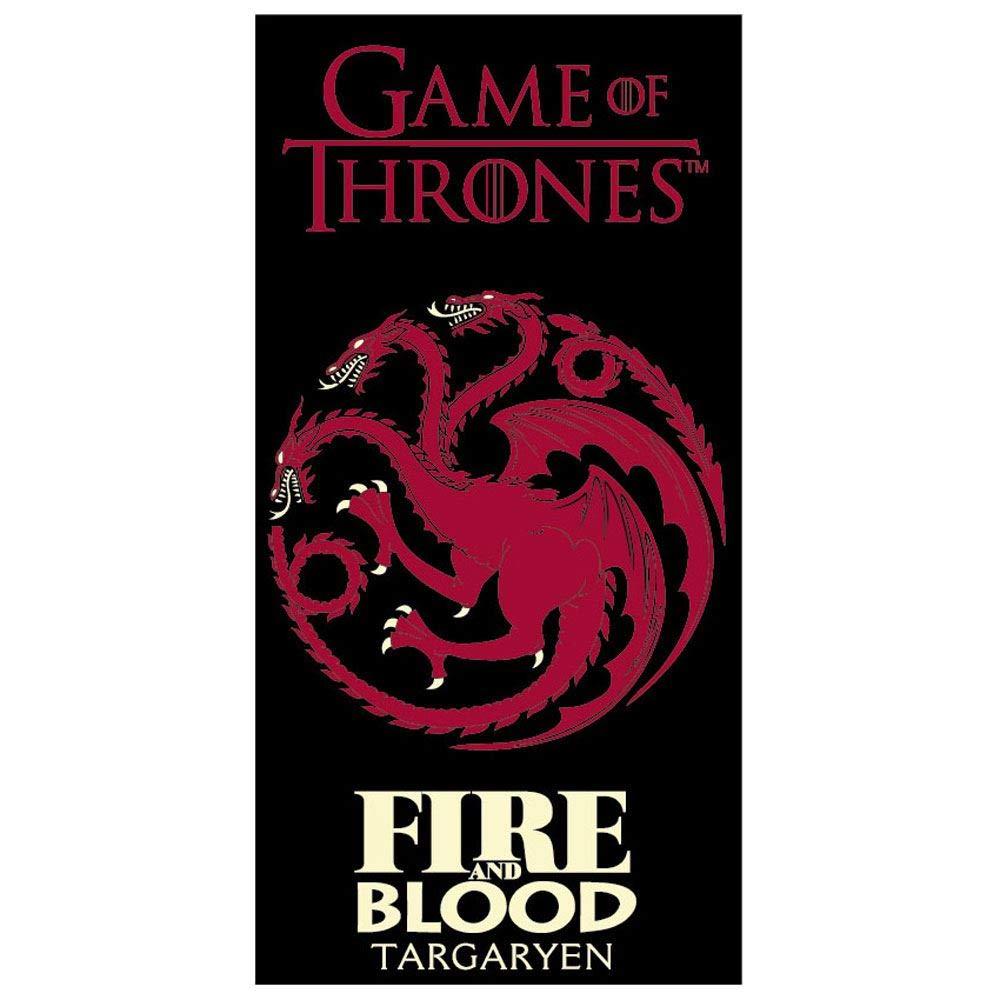 TDI Roman Kolodziejczyk Serviette de feu et de Sang Game of Thrones