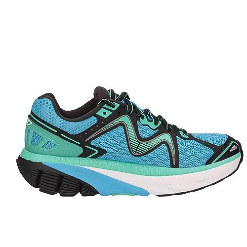 Mbt Mujer 700817982YBLU Azul Fibras Sintéticas Zapatillas: Amazon.es: Zapatos y complementos