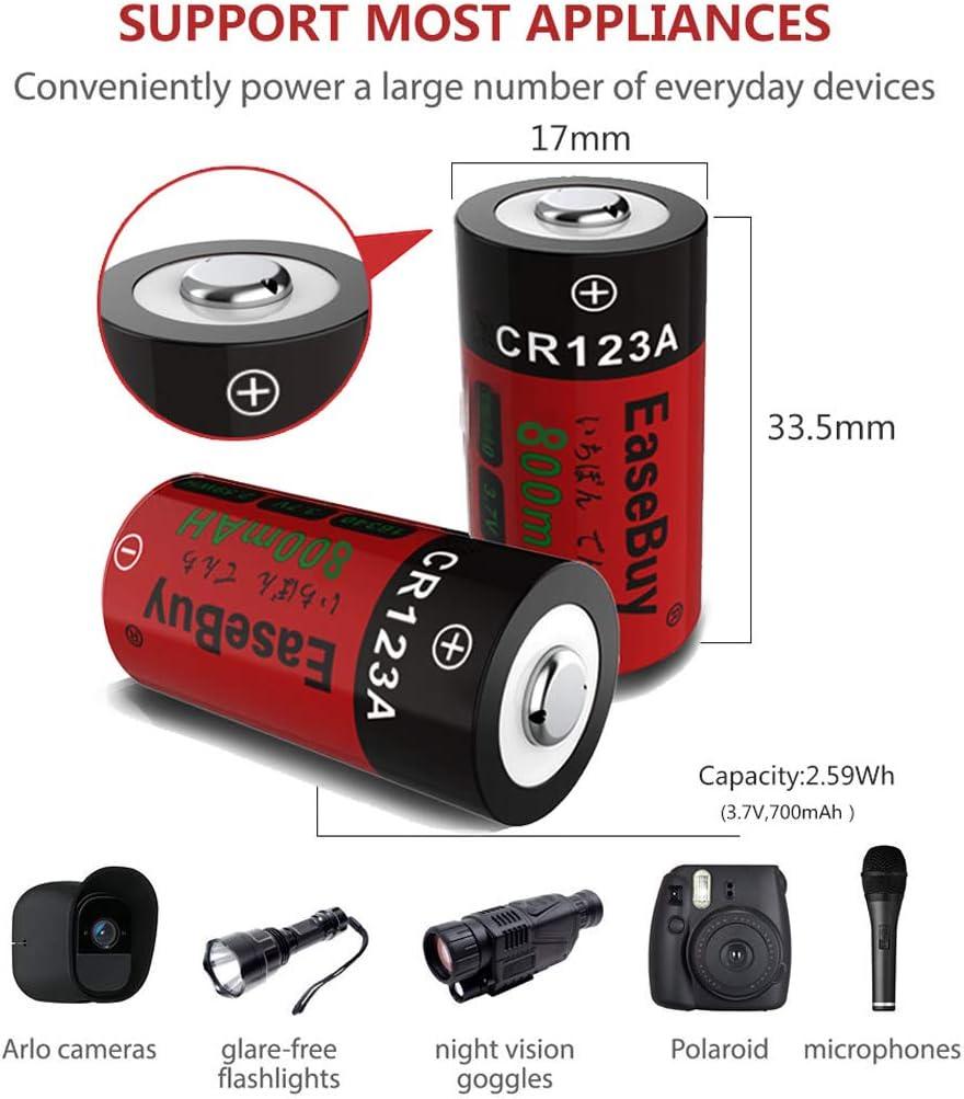Accessories Camera & Photo EaseBuy 16-Pack 800mAH Arlo Camera ...