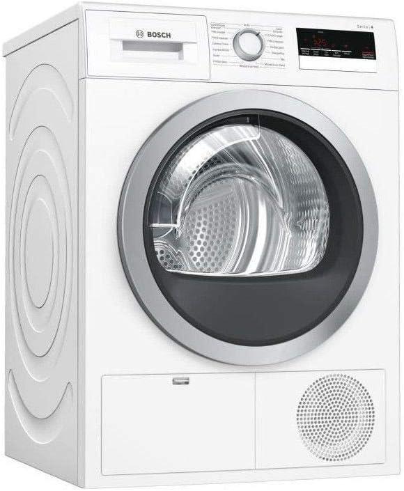 Secadora Condensación Bosch WTN85207FF – Condensación – Carga frontal – Indicador del tiempo restante