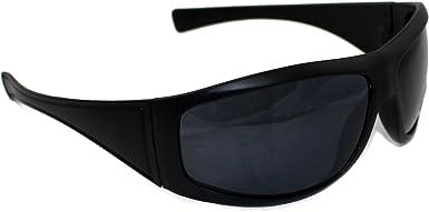 Xloop Mens Boys Polarized Designer UV400 Wrap Black//Brown Tint Sunglasses 72 New
