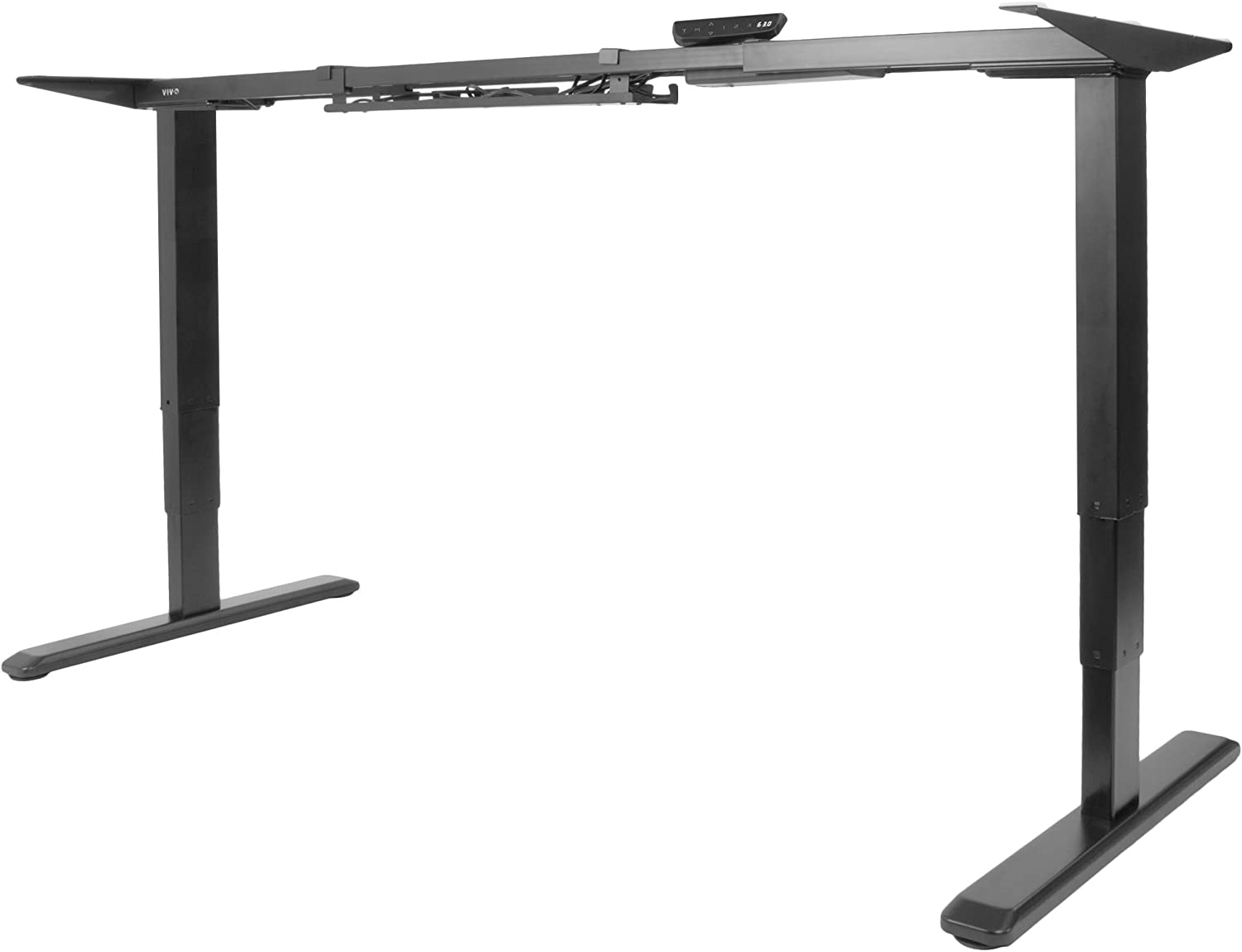 Electric Stand Up Desk Frame w//Dual Motor Height Adjustable Standing Base New