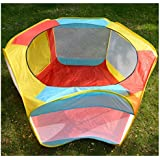 Folding Portable Playpen Baby Play Yard With Travel...