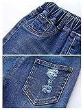 MMWORM Baby Boys Ripped Jeans Elastic Waist Denim