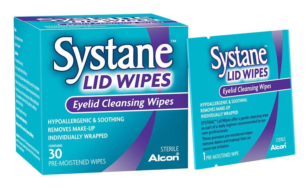 Systane Lid Wipes, 30-Count
