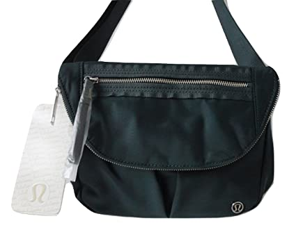 805ad45578a Amazon.com: Lululemon Athletica LULULEMON TLSH Forest Green Festival Bag  Shoulder Cross Body Crossbody Bag One Size: Sports & Outdoors