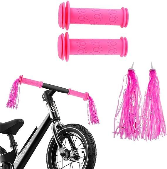 1 Pair Children Bike Streamers Bicycle Handlebar Ribbon Kids Scooter TasselN/_gu