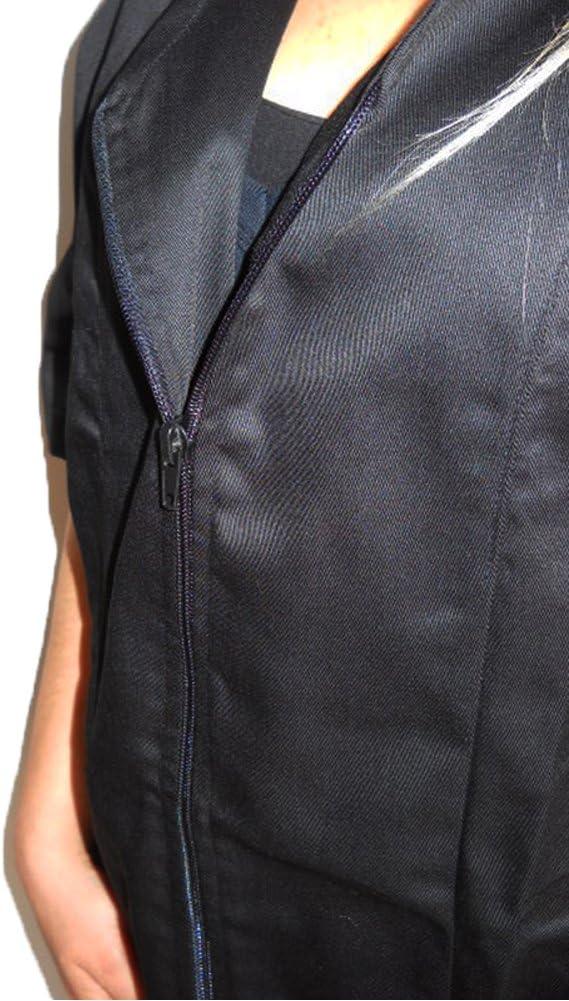 Fratelliditalia Camice Casacca Estetista parrucchiera Centro estetico Massaggi Lavoro Zip Cotone