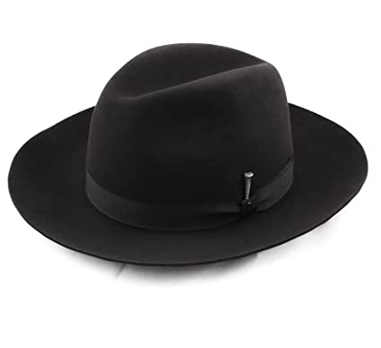 9ad9dab8260 Bailey of Hollywood Ralat Fedora Hat Size L Noir at Amazon Men s ...