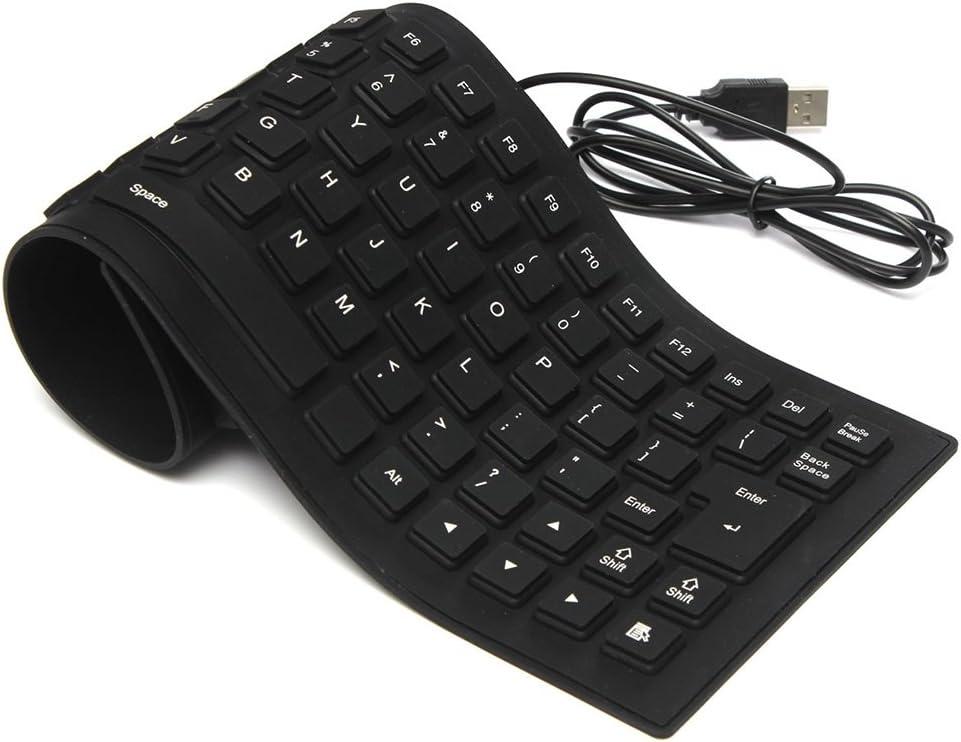 QWERTY 1.5 m 495 x 12 x 138 mm USB+PS//2 teclado QWERTY Gembird KB-109F-B 300 g CE
