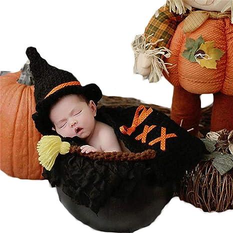 Disfraz de ganchillo para recién nacido, 3 unidades, disfraz de ...