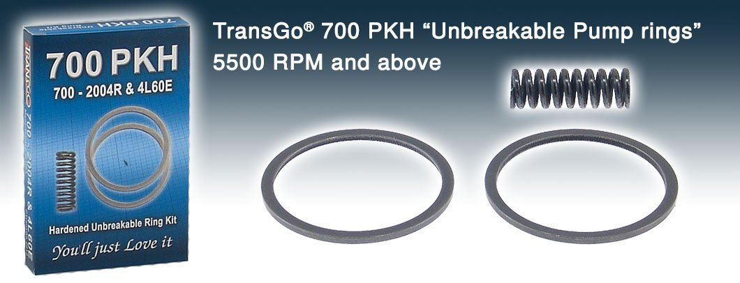 Transgo 700PKH Pump Ring Kit, NoYoYo Hi-Perf -