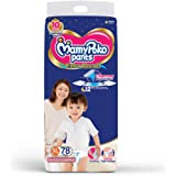 MamyPoko Pants Extra Absorb Diaper - Extra Large Size, Pack of 78 Diapers (XL-78)