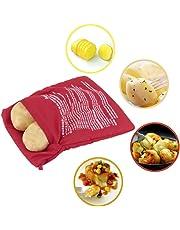 Bolsa microondas para asar patatas en 4 min mazorcas de maíz, pan del día anterior