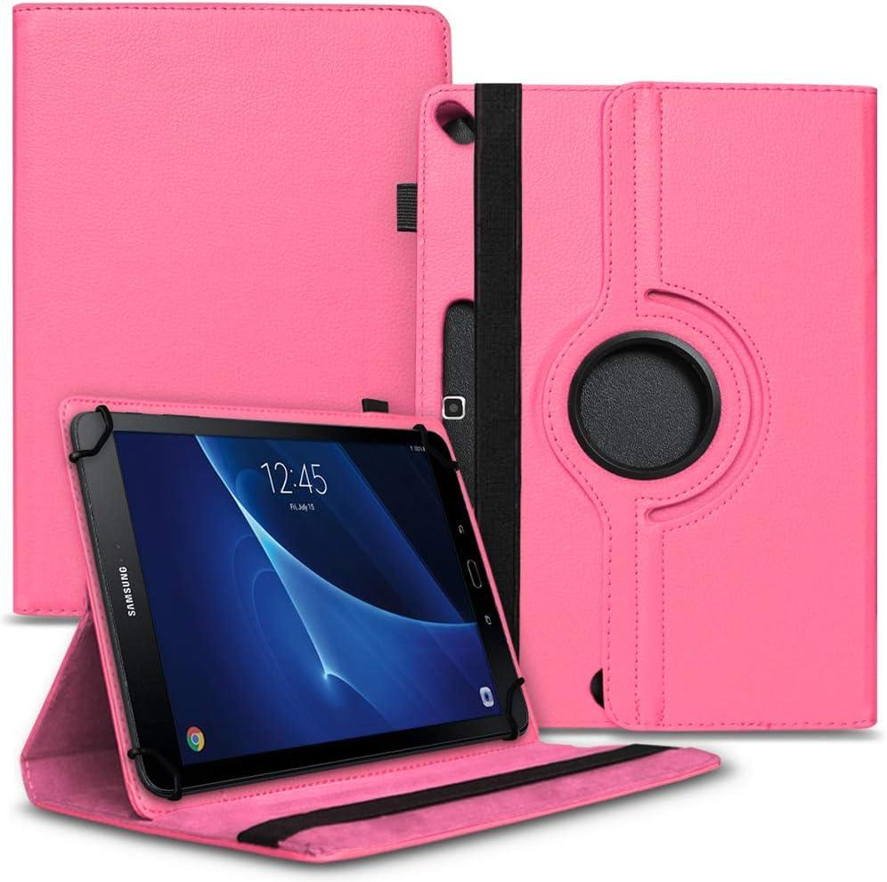 Nauci Tablet Schutz Hülle Kompatibel Für Samsung Galaxy Tab A6 10 1 2016 Aus Hochwertigem Kunstleder Mit