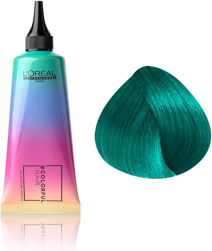 LOréal, Aditivo y relleno de color (Azul Caribe) - 90 ml.