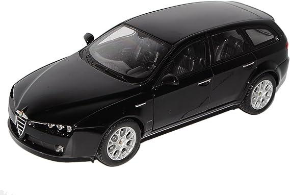 Welly Alfa Romeo 159 Sw Sportwagon Schwarz 2005 2011 1 24 Modell Auto Spielzeug