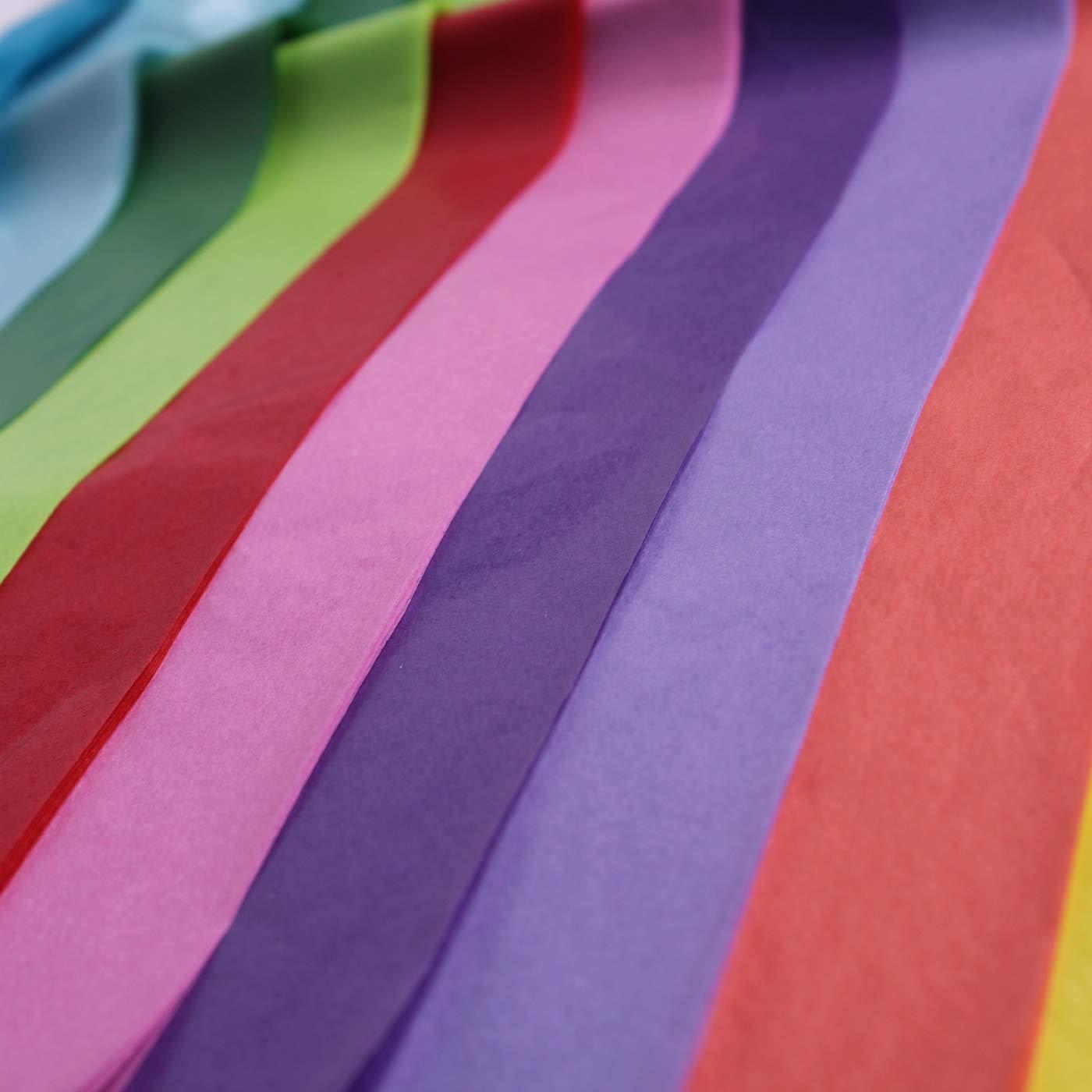 Other Fogli di carta velina multicolorati da 50/cm x 75/cm confezione da 50 per regali e imballaggi