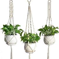 Nosii Tenedor de la Planta de Maceta Colgante de Interior macetas macetas suspensión para la Oficina de Home Garden - 3…