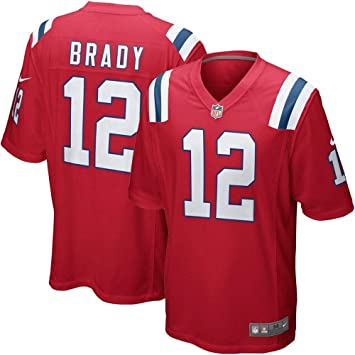 Nike NEP NFL Game ALT JRSY - Camiseta, Hombre, (University Red/Brady TOM): Amazon.es: Deportes y aire libre