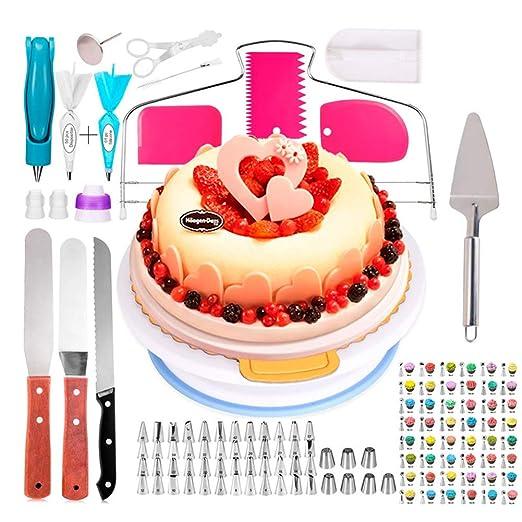 Kit de decoración de pasteles Tocadiscos para pastel - 124 piezas ...
