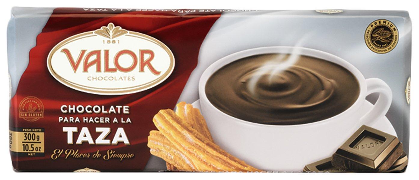 Amazon.com : Valor - Chocolate a la Taza - Trinkschokolade, Tafel - 300 gr : Grocery & Gourmet Food