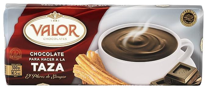 Valor chocolates - Chocolate para hacer a la taza - 300 g