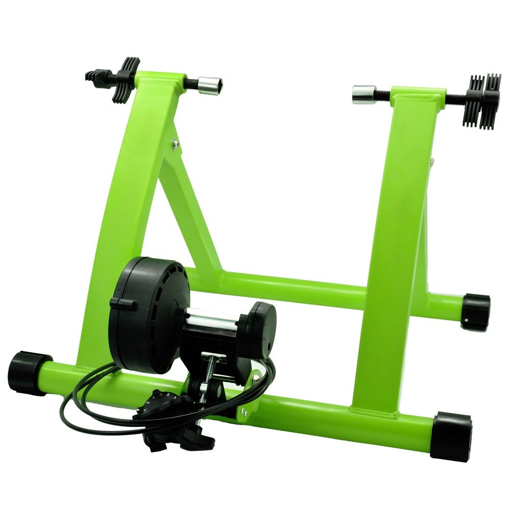 DS Green 6 Levels Magnetic Resistances Bike Trainer Stand
