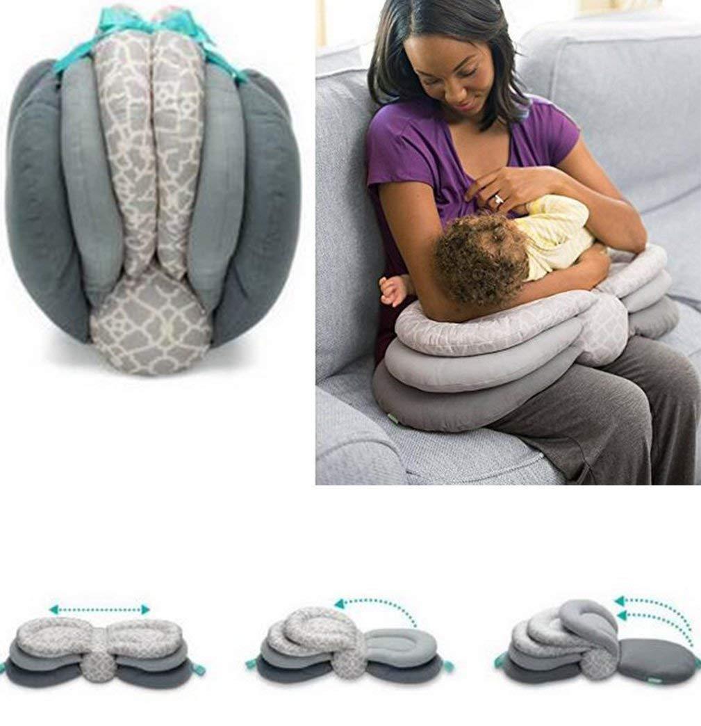 Almohada de lactancia, almohada multifunción de lactancia para ...