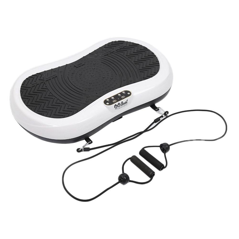 Wefun Vibrationsplatte Fitness für Das Training Die Belastung von bis zu 100 kg,76x46x12.5cm