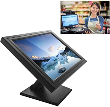 Monitor táctil LCD SenderPick de 17 pulgadas, sistema de caja para ordenadores, VGA, USB, cajero, restaurante, bar, café, donut Store: Amazon.es: Electrónica