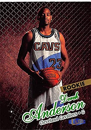 fb185770f Amazon.com  Basketball NBA 97-98 Fleer Ultra  124 Derek Anderson NM ...