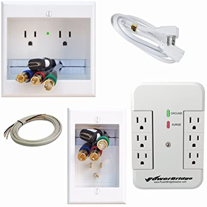 amazon com powerbridge solutions in wall cable management rh amazon com