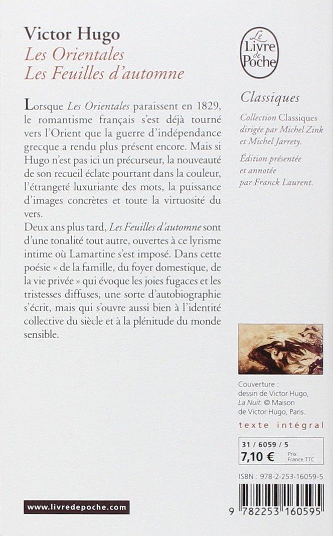 Les Orientales Feuilles Dautomne Amazoncouk Victor