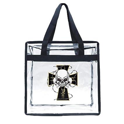 Amazon.com: Zhdashaiff - Bolsas transparentes con cordón y ...