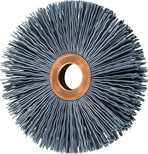 PFERD 83795 Small Diameter Copper Centre Abrasive Filament Wheel Brush, Silicon Carbide Grain (SiC), 3