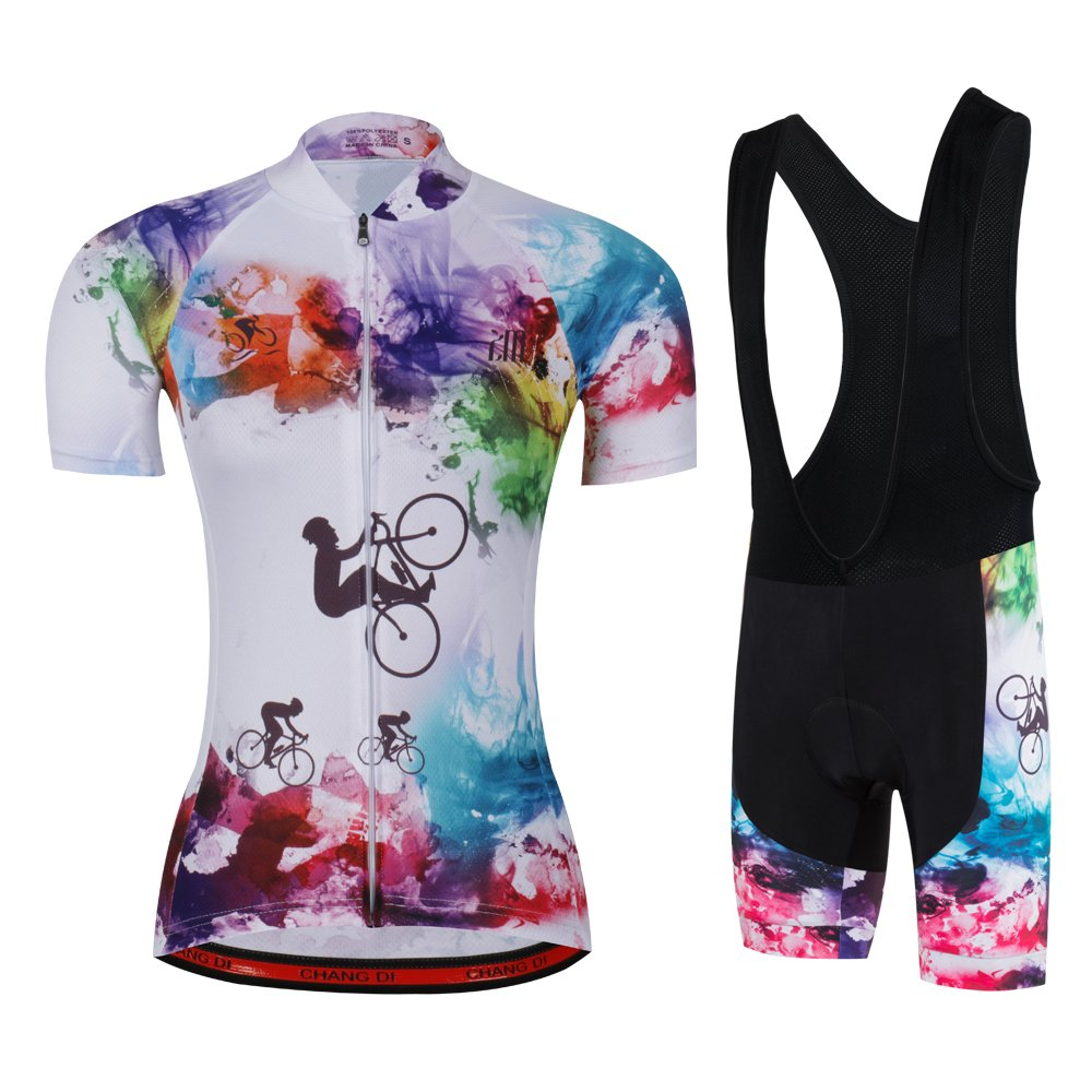 Women's Cycling Jersey Beautiful Bike Bicycle Clothing Shirt Jacket Summer (Asia-XXXL, 33) by ZM