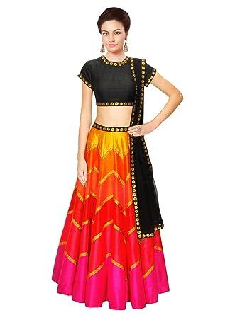 Designer Simple Lehenga choli at Amazon Women\'s Clothing store: