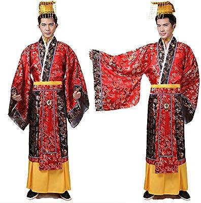 Disfraz de dinastía de Han / El Rey Qinshihuangs vestido/antiguo ...