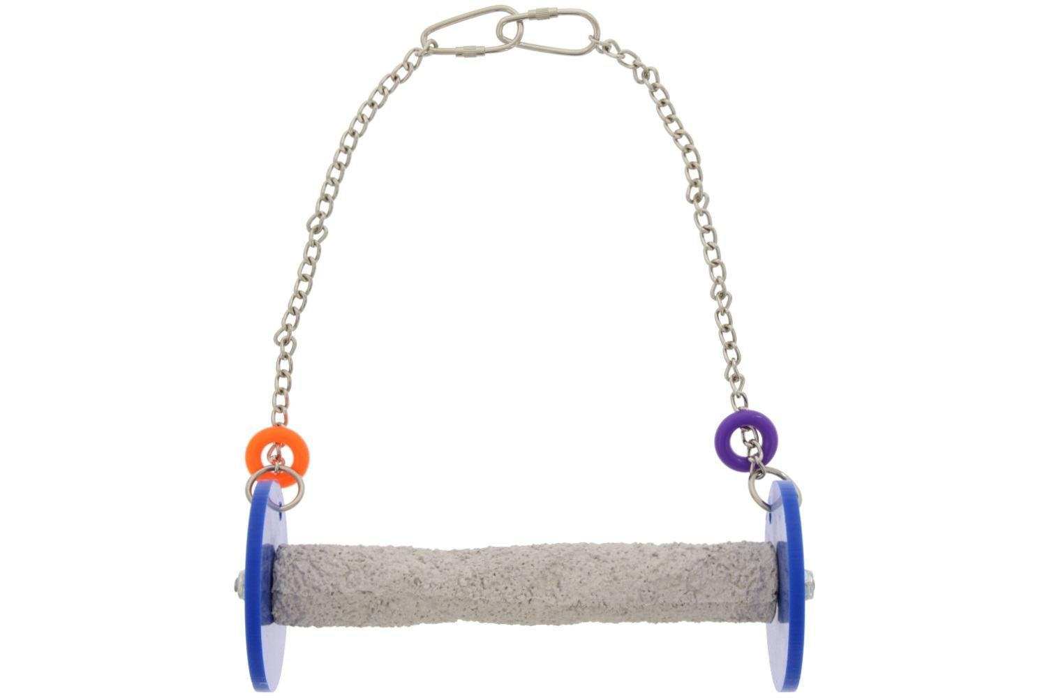 Sweet Feet and Beak Roll Swing and Perch for Birds, Keeps Nails and Beak in Top Condition and Stimulate Leg Muscles - Safe and Non-Toxic, for Cages by Sweet Feet and Beak (Image #1)