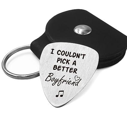 Amazon.com: Best Boyfriend - Púa de guitarra para hombre ...