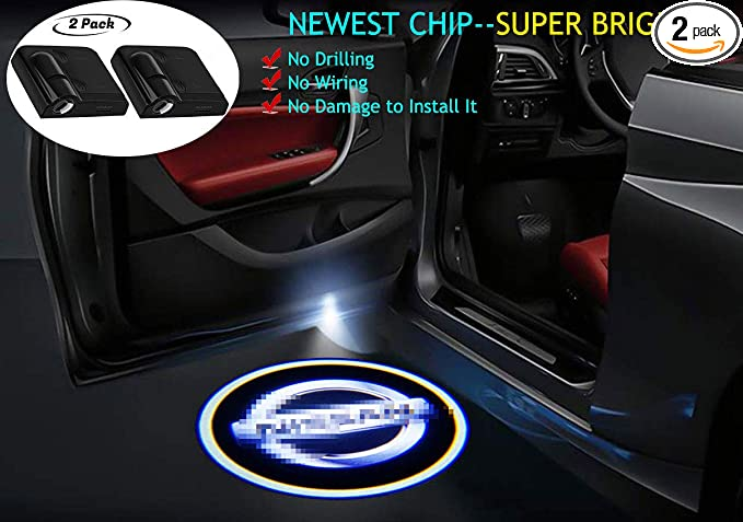 Car Door Projector Oakland Raiders Courtesy Laser Ghost Shadow Light For Nissan