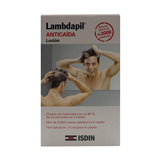 Amazon.com : Lambdapil Hair Loss Lotion 3ml x 20 Single Dose - Hair Care - Hair Loss Treatment - Hair Regrowth Lotion - Spain : Beauty