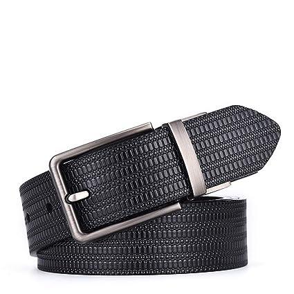 Cinturón de cuero para hombre Cinturón para MenBelt de 1.5 ...