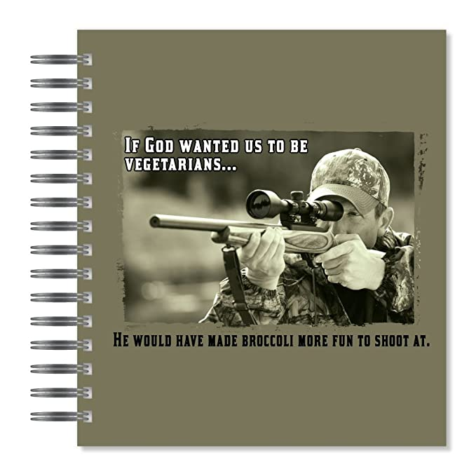 Holds 72 Photos PA14249 Multicolored ECOeverywhere Vegetarians Picture Photo Album 18 Pages 7.75 x 8.75 Inches