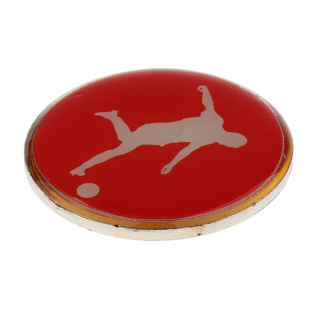 T TOOYFUL Pack 2 Durable Referee Flip//Toss Coin For Football Soccer Sports Outdoor