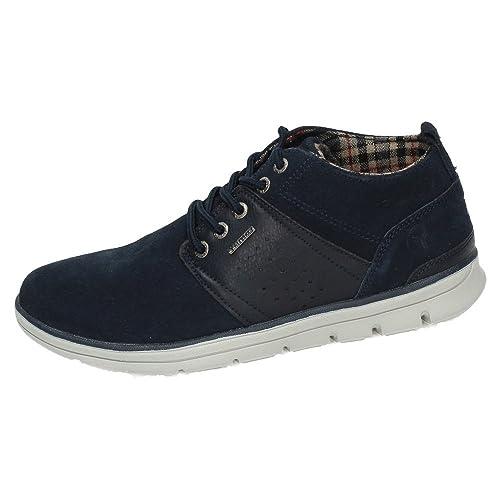 Yumas 39000 Zapatos Yumas GILIAN Hombre Botas-Botines Marino 45: Amazon.es: Zapatos y complementos
