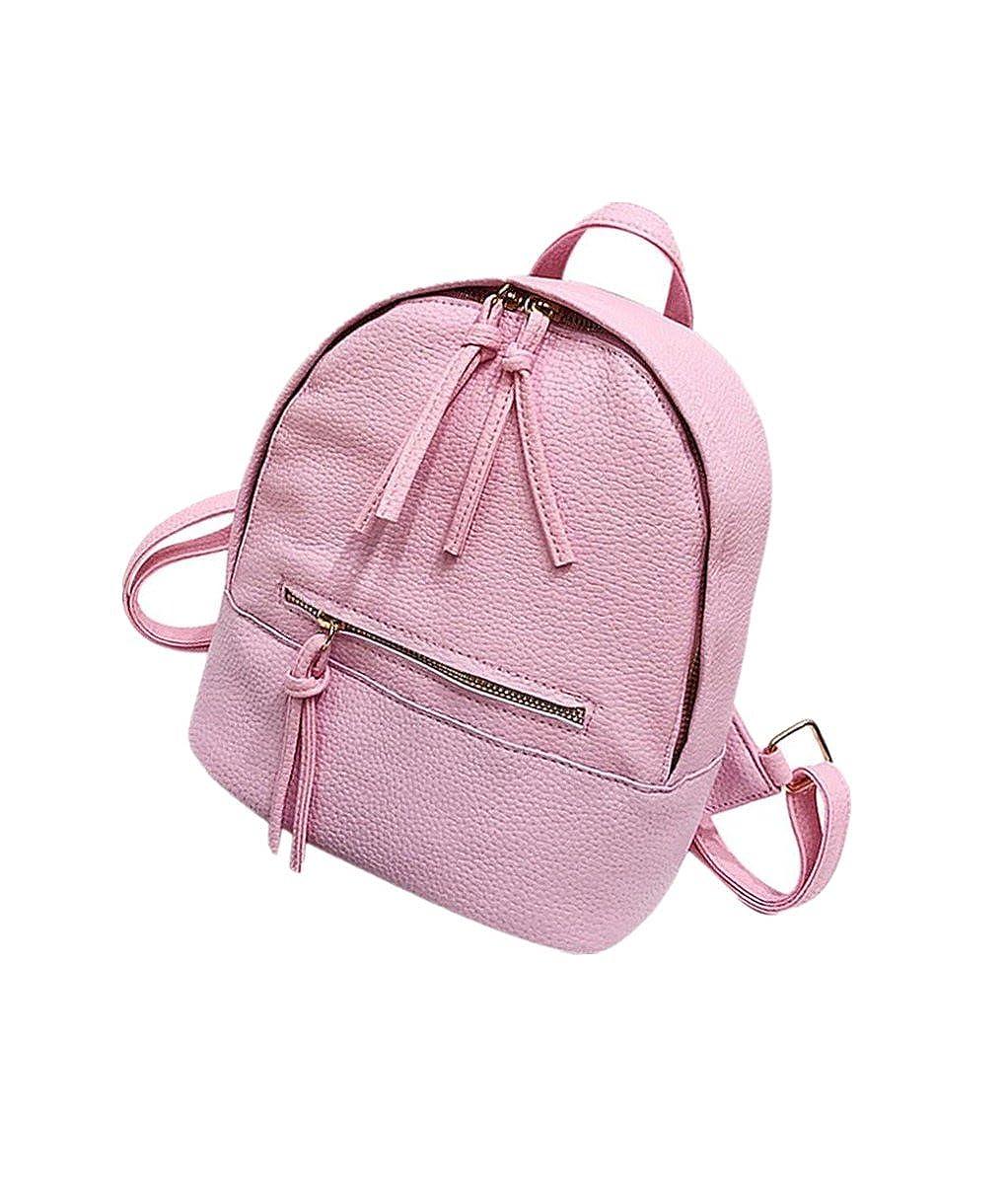 erthome Women Girl School Bag Preppy Style Letter Backpack Mini Travel Shoulder Bag